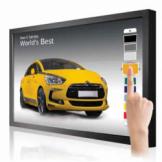 Профессиональный сенсорный LED-дисплей LG VT30